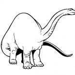 Brachiosaurus, Pre History Animal Brachiosaurus Coloring Page: Pre History Animal Brachiosaurus Coloring Page