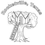 Treehouse, Rocketville Treehouse Coloring Page: Rocketville Treehouse Coloring Page