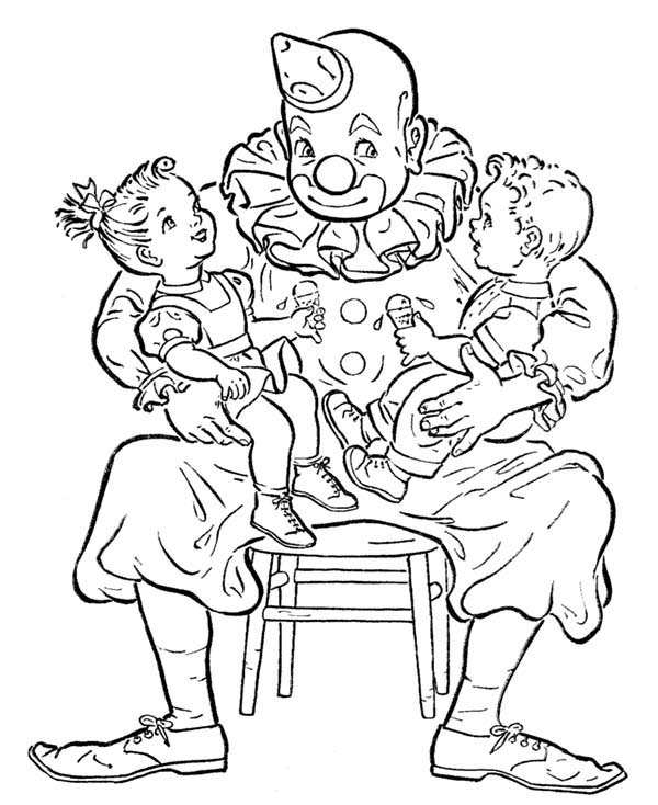 April fools, : April Fools Day Coloring Page for Kids