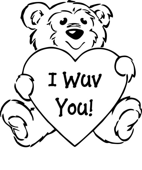 April fools, : I Love You Even on April Fools Day Coloring Page