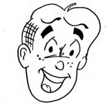 Archie, Picture Of Archie Head Coloring Page: Picture of Archie Head Coloring Page
