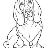 Dogs, Slinky Dog Coloring Page: Slinky Dog Coloring Page
