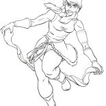 The Legend of Korra, Awesome Korra Coloring Page: Awesome Korra Coloring Page