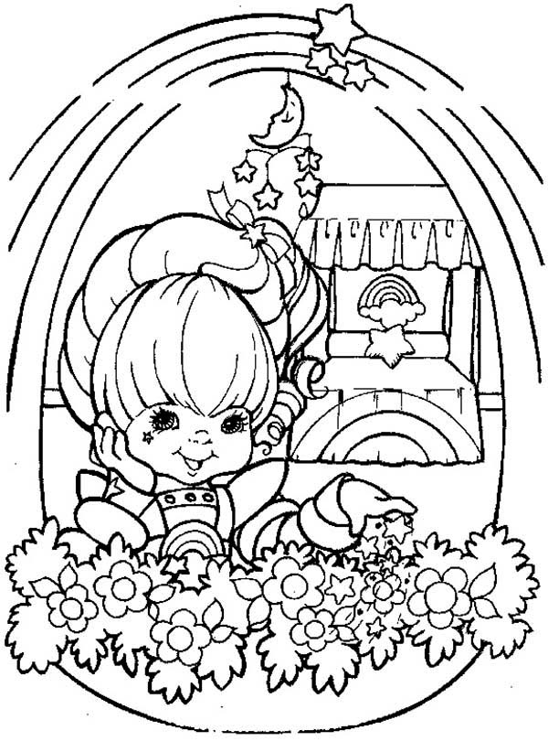 Beautiful Rainbow Brite Coloring Page Color Luna