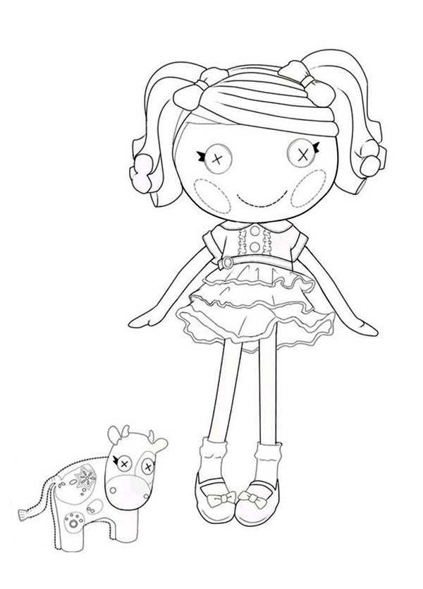 Lalaloopsy, : Berry Jars N Jam from Lalaloopsy Coloring Page