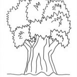 Nature, Big Tree Of Nature Coloring Page: Big Tree of Nature Coloring Page