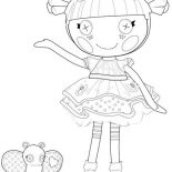 Lalaloopsy, Blossom Flower Pot From Lalaloopsy Coloring Page: Blossom Flower Pot from Lalaloopsy Coloring Page