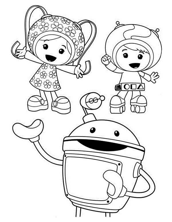 team umizoomi milli coloring pages - photo#17