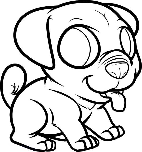chibi dog coloring pages anime dog coloring page free printable