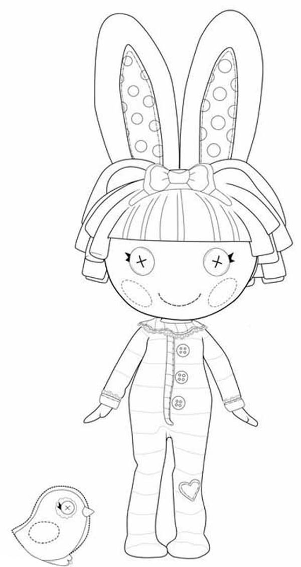 Lalaloopsy, : Dot Starlight and Thats Out of This World in Lalaloopsy Coloring Page