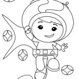 Team Umizoomi, Geo From Team Umizoomi Coloring Page: Geo from Team Umizoomi Coloring Page