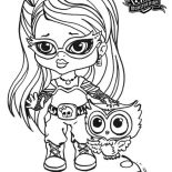 Monster High, Ghoulia Yelps From Monster High Coloring Page: Ghoulia Yelps from Monster High Coloring Page