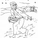 Parable of the Sower, How To Draw Parable Of The Sower Coloring Page: How to Draw Parable of the Sower Coloring Page