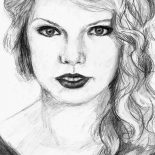 Taylor Swift, How To Draw Taylor Swift Coloring Page: How to Draw Taylor Swift Coloring Page