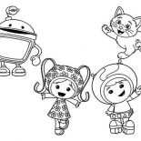 Team Umizoomi, How To Draw Team Umizoomi Coloring Page: How to Draw Team Umizoomi Coloring Page