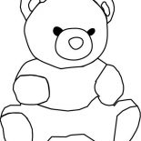 Teddy Bear, How To Draw Teddy Bear Coloring Page: How to Draw Teddy Bear Coloring Page