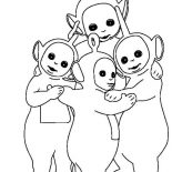 Teletubbies, How To Draw Teletubbies Coloring Page: How to Draw Teletubbies Coloring Page