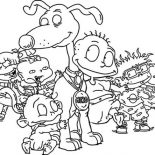 Rugrats, How To Draw The Rugrats Characters Coloring Page: How to Draw the Rugrats Characters Coloring Page