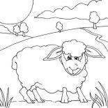 Shaun the Sheep, Kids Drawing Of Shaun The Sheep Coloring Page: Kids Drawing of Shaun the Sheep Coloring Page