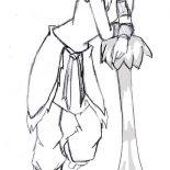 The Legend of Korra, Korra Is Shy Coloring Page: Korra is Shy Coloring Page