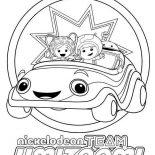 Team Umizoomi, Nickelodeon Team Umizoomi Coloring Page: Nickelodeon Team Umizoomi Coloring Page