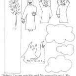 Parable of the Sower, Parable Of The Sower Paper Craft Coloring Page: Parable of the Sower Paper Craft Coloring Page