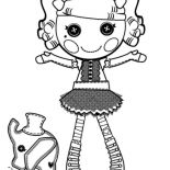 Lalaloopsy, Peanut Big Top From Lalaloopsy Coloring Page: Peanut Big Top from Lalaloopsy Coloring Page