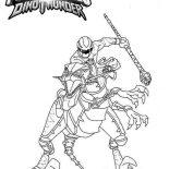Power Rangers, Power Rangers Dinothunder Coloring Page: Power Rangers Dinothunder Coloring Page