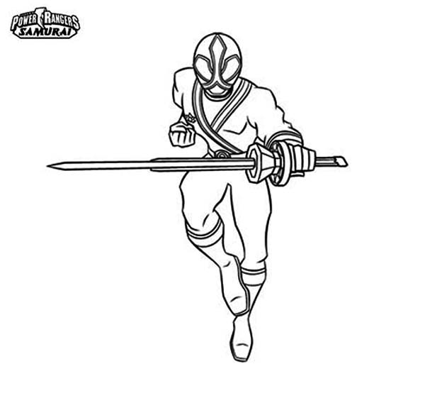 - Power Rangers Samurai Coloring Page : Color Luna