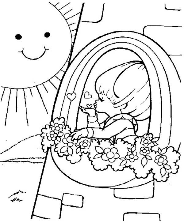 Coloring page : Rainbow Brite - Coloring.me | 728x600