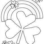 Nature, Rainbow Of Nature Coloring Page: Rainbow of Nature Coloring Page