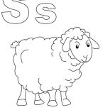 Shaun the Sheep, S Is For Shaun The Sheep Coloring Page: S is for Shaun the Sheep Coloring Page