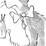 The Cat in the Hat, Sketch Of The Cat In The Hat Coloring Page: Sketch of the Cat in the Hat Coloring Page