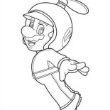 Mario Brothers, Super Mario Brothers Picture Coloring Page: Super Mario Brothers Picture Coloring Page