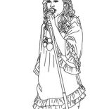 Taylor Swift, Taylor Swift Has An Angel Voice Coloring Page: Taylor Swift Has an Angel Voice Coloring Page