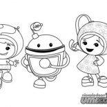 Team Umizoomi, Team Umizoomi Coloring Page For Kids: Team Umizoomi Coloring Page for Kids