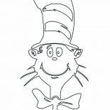 The Cat in the Hat, The Cat In The Hat Picture Coloring Page: The Cat in the Hat Picture Coloring Page