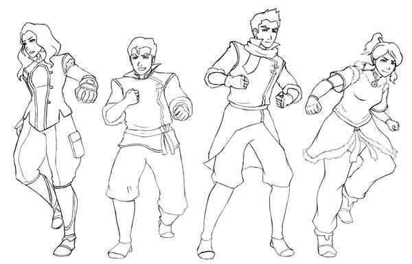 The Legend of Korra, : The Legend of Korra Characters