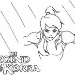 The Legend of Korra, The Legend Of Korra Coloring Page: The Legend of Korra Coloring Page