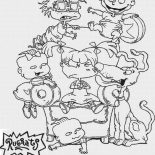 Rugrats, The Rugrats Coloring Page For Kids: The Rugrats Coloring Page for Kids