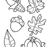 Autumn, Harvest Crops In Autumn Season Coloring Page: Harvest Crops in Autumn Season Coloring Page