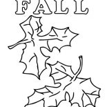 Autumn, How To Draw Autumn Leaves Coloring Page: How to Draw Autumn Leaves Coloring Page