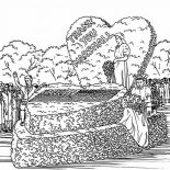 Veterans Day, Celebrating Veterans Day At George C Marshall Memorial Coloring Page: Celebrating Veterans Day at George C Marshall Memorial Coloring Page
