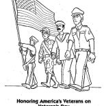 Veterans Day, Honoring US Veterans By Celebrating Veterans Day Coloring Page: Honoring US Veterans by Celebrating Veterans Day Coloring Page