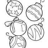 Christmas, Lovely Christmas Ball Ornaments For Christmas Tree On Christmas Coloring Page: Lovely Christmas Ball Ornaments for Christmas Tree on Christmas Coloring Page