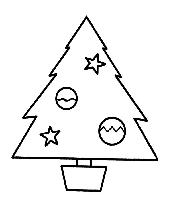 Christmas Trees, : Buying Christmas Trees Coloring Pages