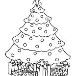 Christmas Trees, Chrismas Gifts And Christmas Trees Coloring Pages: Chrismas Gifts and Christmas Trees Coloring Pages