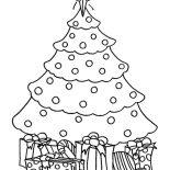 Christmas Trees, Chrismas Gifts And Christmas Trees Coloring Pages: Chrismas Gifts and Christmas Trees Coloring Pages