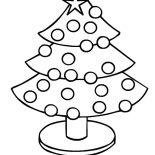 Christmas Trees, Christmas Trees Image Coloring Pages: Christmas Trees Image Coloring Pages