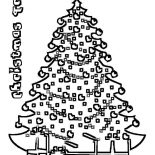 Christmas Trees, Christmas Trees On Christmas Eve Coloring Pages: Christmas Trees on Christmas Eve Coloring Pages